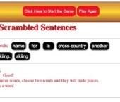 Sort the Scrambled Sentences