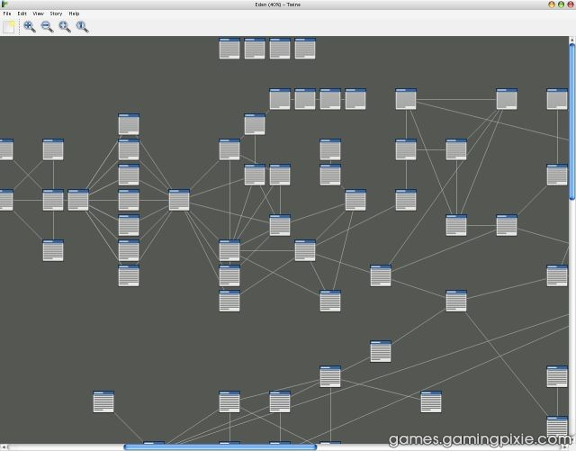 Some Twine source code for Eden. SOME.