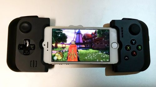 iPhone5SでPS4リモートプレイ、R-PlayとGAMEVICE