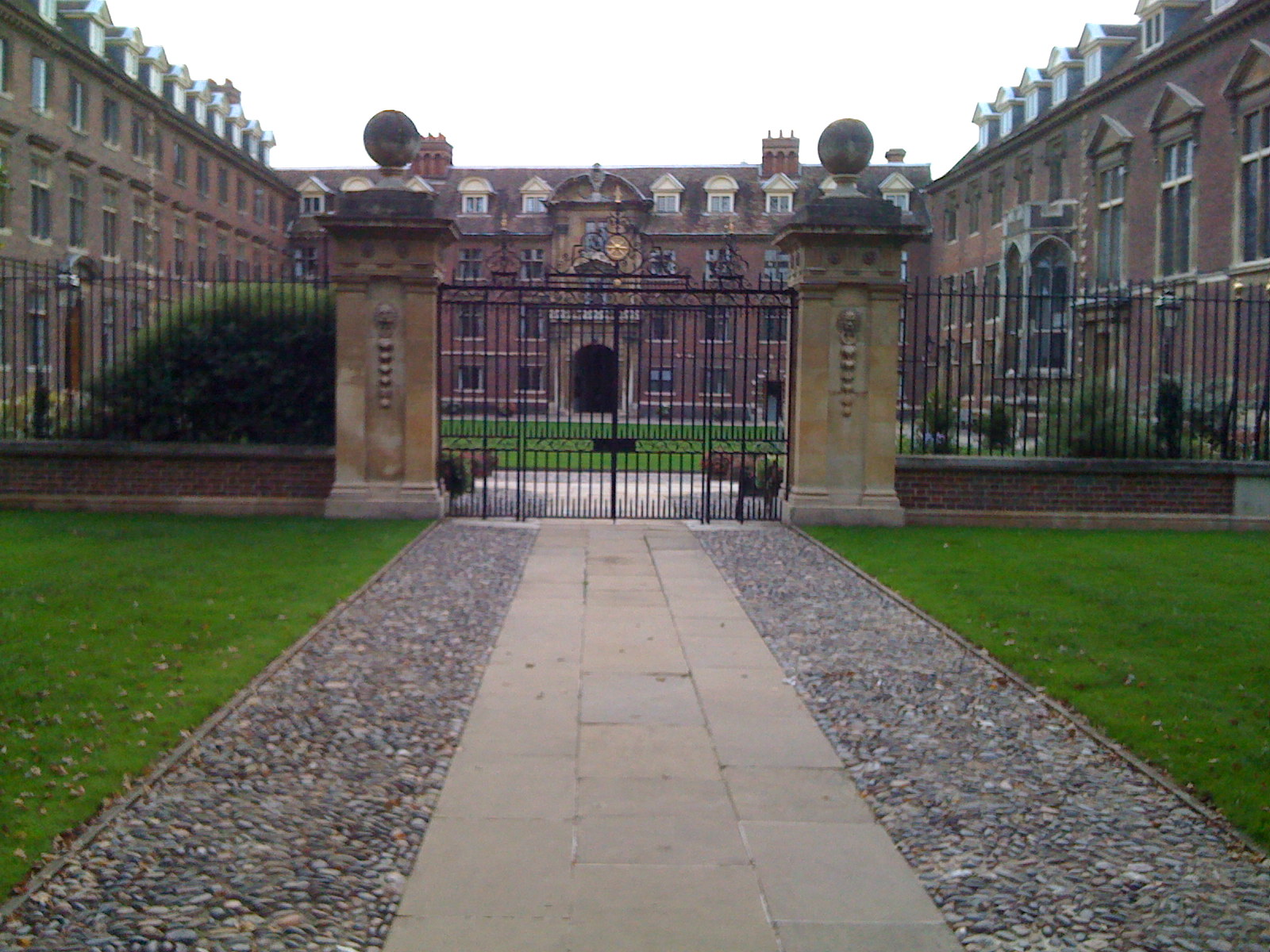 St. Catherine College - can't ask for a nicer place to stay...