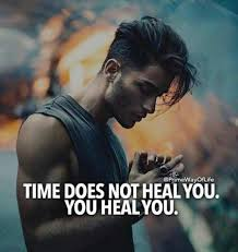 Image] Only you can heal yourself. : GetMotivated