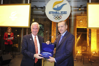 Turkey's Prime Minister Scheduled To Attend Istanbul 2020 Final Presentation in Buenos Aires