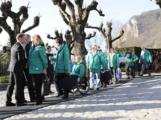 IOC Evaluation Commission Arrives in Annecy for 2018 Bid Inspection