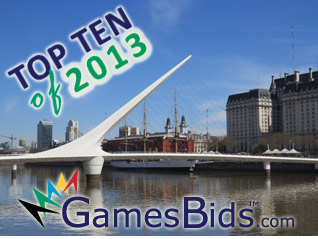 Top Olympic Bid Stories of 2013: #8 Buenos Aires Wins Bid to Host 2018 Youth Olympic Games