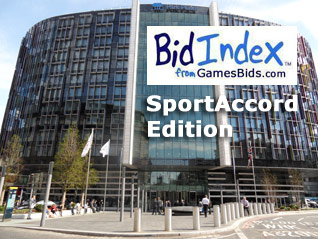 PyeongChang 2018 Olympic Bid On Track:  New BidIndex Results Released at SportAccord