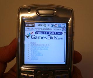 GamesBids.com Goes Mobile