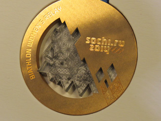 "Sochi 2014 Unveils Olympic and Paralympic Medals That Include ""Patchwork Quilt"" Design"