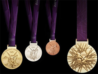 London 2012 Unveils Olympic Medals