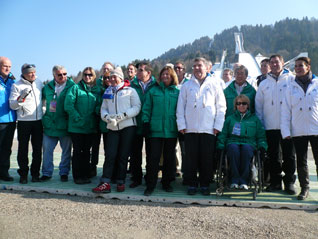 IOC Visits Garmisch-Partenkirchen On Second Day of Munich 2018 Inspection
