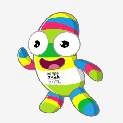 Nanjing 2014 Mascot Unveiled