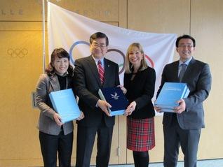 PyeongChang 2018 Delivers Bid Book To IOC