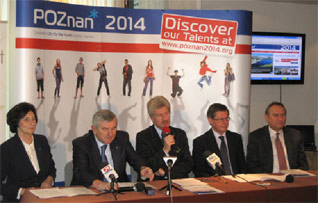 Poznan 2014 Youth Summer Games Gets Full Government Support