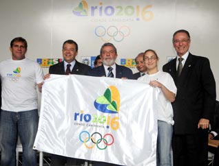 Rio 2016 Official Bid Flag Raised – Gets Government Support