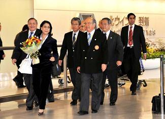 IOC Commission Arrives In Tokyo For 2016 Inspection
