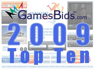 Top Olympic Bid Stories of 2009:  #5 Anti-bid Website Created Mystery and Finger-Pointing Among Rivals