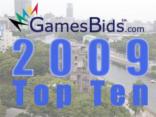 Top Olympic Bid Stories of 2009:  #9 Joint Hiroshima and Nagasaki Bid For 2020 Olympics