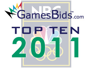 Top Olympic Bid Stories of 2011: #2 NBC Wins $4.38 Billion U.S. Bid For Olympic Television Rights Until 2020