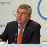 IOC President Thomas Bach at Executive Board Meeting in Lausanne (GB Photo)