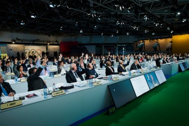 3,840 Raised Hands Move Olympic Movement Forward