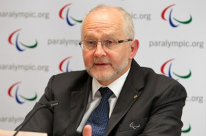 International Paralympic Committee President Sir Philip Craven (IPC Photo)