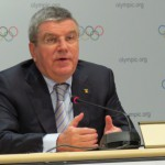 IOC President Thomas Bach at 127th Session in Monaco December 6, 2015 (GB Photo)