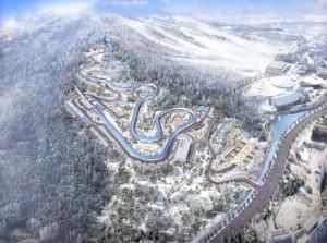PyeongChang 2018 Sliding Venue Concept (POCOG Image)