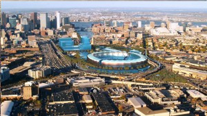 Boston 2024 Olympic Bid Stadium Depiction (Source: Boston 2024)