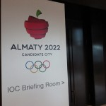 IOC Met With Official Behind Closed Doors in Almaty for Olympic Bid Evaluation (GamesBids Photo)