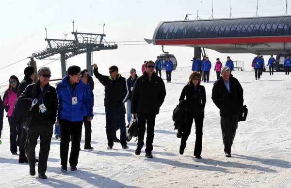 IOC Evaluation Commission visits Zhangjiakou (Beijing 2022 Photo)