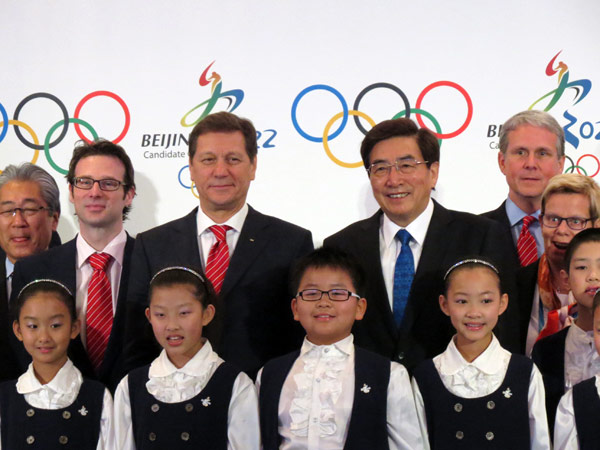 IOC Evaluation Commission Chief Alexander Zhukov and Beijing 2022
