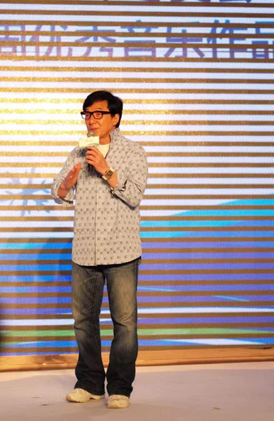 Jackie Chan Supports Beijing 2022 Olympic Bid