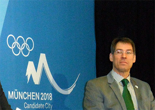 Bernhard Schwank who was CEO for Munich 2018 and has now been appointed director of sport and international relations of Hamburg 2024 (GB Photo)
