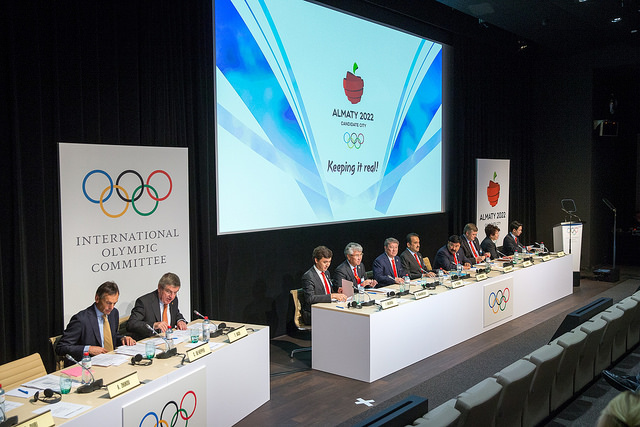 Almaty 2022 Technical Presentation to IOC at Olympic Museum in Lausanne, June 9, 2015 (IOC Photo)