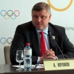 Almaty 2022 Vice Chairman Andrey Kryukov (GamesBids Photo)