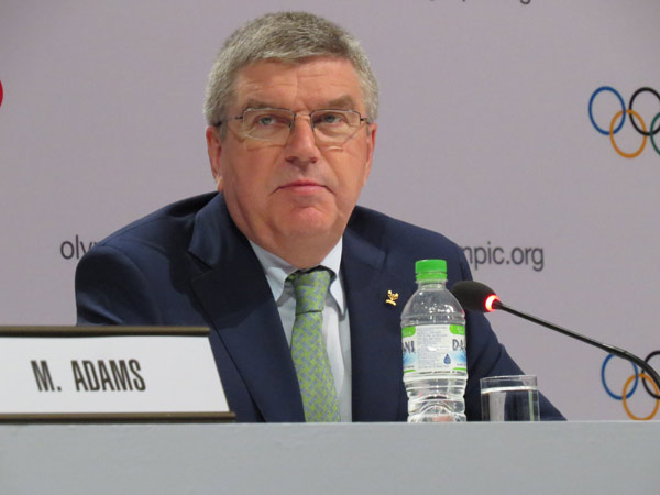 IOC Chief Aligned With USOC Decision To Switch Bid City