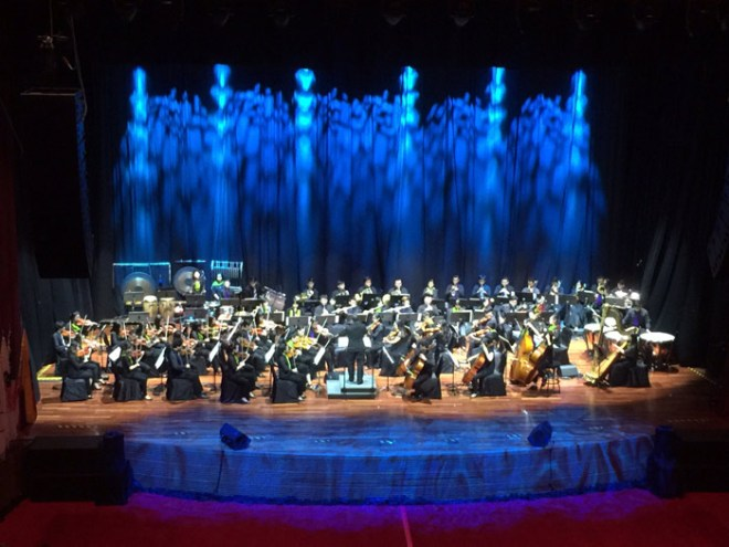 The Malaysian Youth Philharmonic Orchestra entertained the IOC at opening ceremony in Kuala Lumpur (GamesBids Photo)