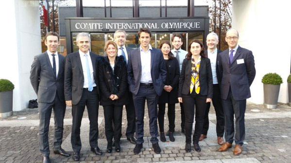 The Paris 2024 team led by Tony Estanguet attends IOC workshop in Lausanne (Paris 2024 Photo)