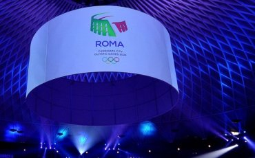 Rome 2024 Unveils Olympic Bid Logo That Evokes Energy, Beauty and Passion