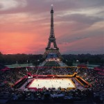 Paris 2024 has proposed beach volleyball in the shadow of the Eiffel Tower