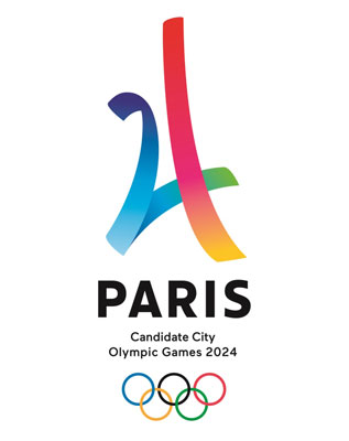 Paris 2024 Olympic Bid Logo