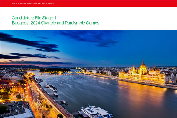 Budapest 2024 Olympic Bid Will Serve As Inspiration For New Bidders Says Bid Book