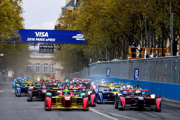 Visa Paris ePrix attracted more than 15,000 fans April 24, 2016 (Paris 2024 Photo)
