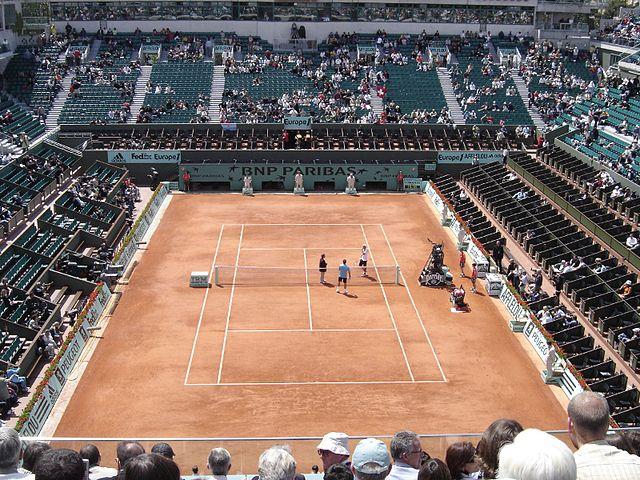 Roland Garros Stadium, Proposed Paris 2024 Olympic Tennis Venue (Wikipedia Photo)