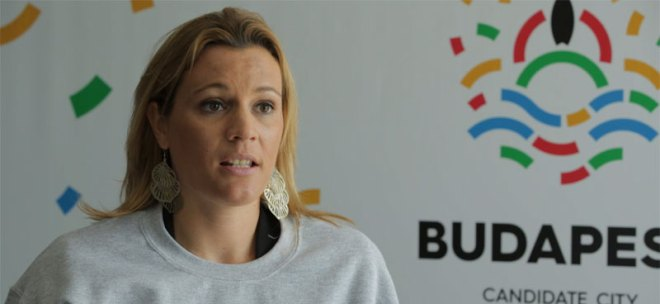 Olympic record-holding swimmer and Hungarian national champion Agnes Kovacs to chair Budapest 2024 Athletes' Commission