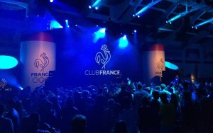 "Double-trouble. France's hospitality house and popular late-night spot ""Club France"" was the source of grief for both Paris' and L.A.'s Olympic bids (Paris 2024 Twitter)"