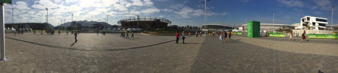 A panorama of Rio 2016's Barra Olympic Park that hosted nine sport venues (GamesBids Photo)