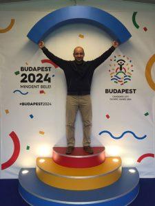 International weightlifting federation delegate visits Budapest 2024 (Budapest 2024 photo)