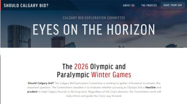 Should Calgary 2026 Bid Questionnaire Be Part Of Standard IOC Acceptance Process?