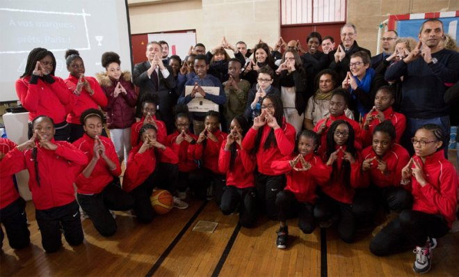 Paris promotes more access to sport for 275,000 young Parisians in line with 2024 legacy vision (Paris 2024 Photo)