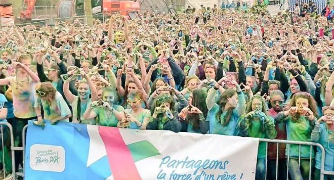 Paris 2024 Celebrates International Women's Day with La Lycéenne Run (Paris 2024 Photo)